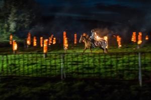 artistieke vuurinstallatie op Hill 60 - © Kris Jacobs, Toerisme Vlaanderen